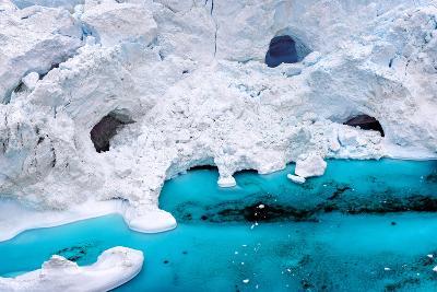Huge Icebergs are on the Arctic Ocean to Ilulissat Fjord, Greenland-Murat Tellioglu-Photographic Print
