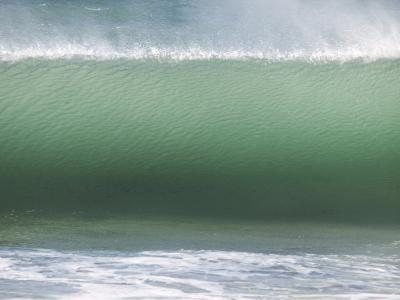 Huge Wave Rolls to Shore-Stacy Gold-Photographic Print