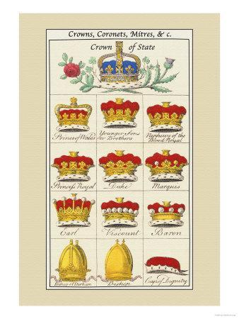 Crowns, Coronets and Mitres
