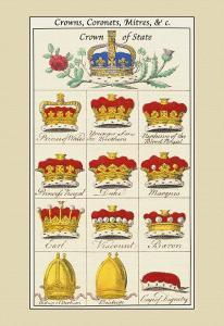 Crowns, Coronets and Mitres by Hugh Clark