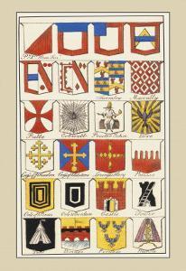 Heraldic Arms: Twemlow and Mascally by Hugh Clark