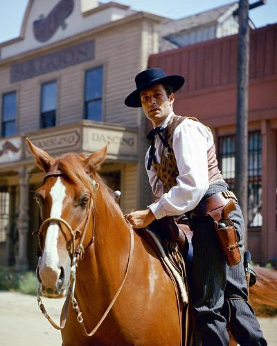 Hugh O'Brian, The Life and Legend of Wyatt Earp (1955)--Photo