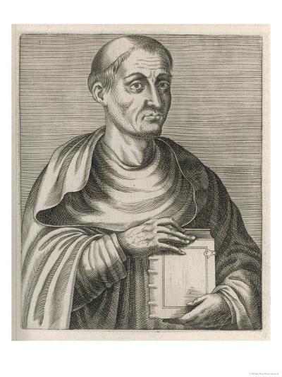 Hugh of Saint Victor Saxon or Flemish Theologian and Mystic--Giclee Print