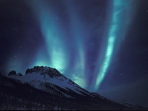 Aurora Borealis Above the Brooks Range, Gates of the Arctic National Park, Alaska, USA by Hugh Rose