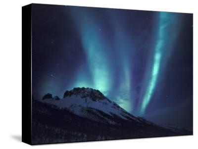 Aurora Borealis Above the Brooks Range, Gates of the Arctic National Park, Alaska, USA