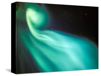 Curtains of Green Aurora in the Northern Sky, Arctic Coastal Plain, Alaska, USA