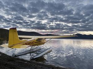 Floatplane, Takahula Lake, Alaska, USA by Hugh Rose
