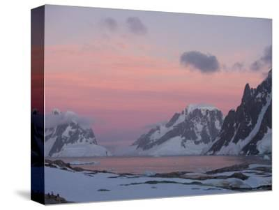 Sunset Light on Lemaire Channel, Antarctic Peninsula