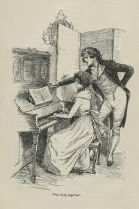 They sang together, 1896 by Hugh Thomson