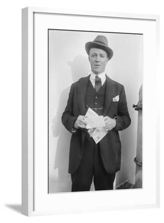 Hugh Walpole, c.1920--Framed Photographic Print