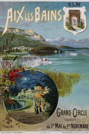Aix Les Bains Poster
