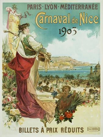 Carnaval De Nice Poster
