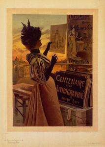 Centennaire de la Lithographie by Hugo D'Alesi