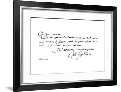Hugo Grotius--Framed Giclee Print