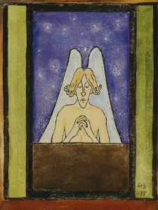 Meditation, 1895 by Hugo Simberg