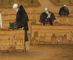 The Garden of Death by Hugo Simberg