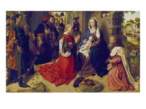 Adoration of the Kings (Monforte-Altar), about 1470 by Hugo van der Goes