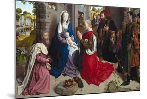 The Adoration of the Kings (Monforte Alta), Ca 1470 by Hugo van der Goes