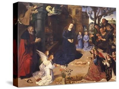 The Adoration of the Shepherds (The Portinari Triptyc), Ca 1478