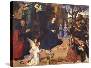 The Adoration of the Shepherds (The Portinari Triptyc), Ca 1478 by Hugo van der Goes