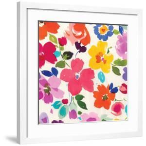 Bright Florals III by Hugo Wild