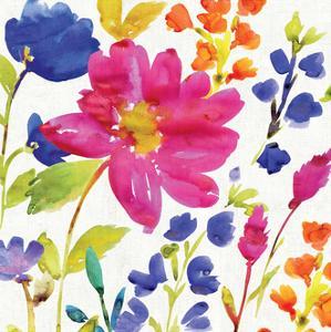 Floral Medley I by Hugo Wild