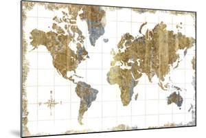 Gilded Map by Hugo Wild