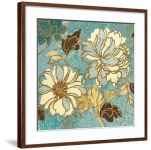 Sophias Flowers I Blue by Hugo Wild
