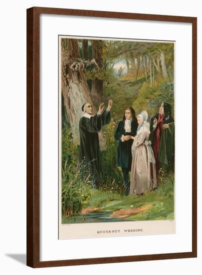 Huguenot Wedding--Framed Giclee Print