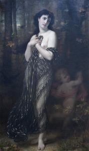 Falling Leaves, Allegory of Autumn by Hugues Merie