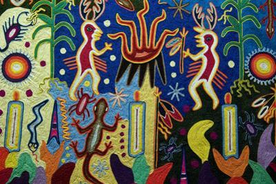 Huichol Art, Detail, National Museum of Anthropology, Mexico City