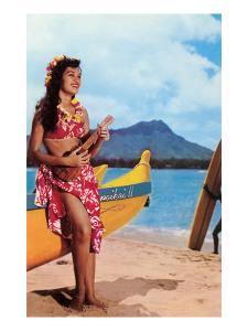 Hula Girl by Outrigger, Hawaii