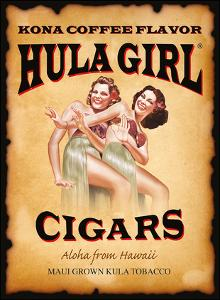 Hula Girl Cigars - Aloha from Hawaii - Kona Coffee Flavor by Hula Girl Store
