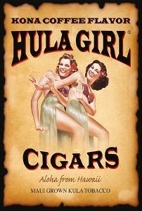 Hula Girl Cigars - Aloha from Hawaii - Kona Coffee Flavor by Hula Girl Store