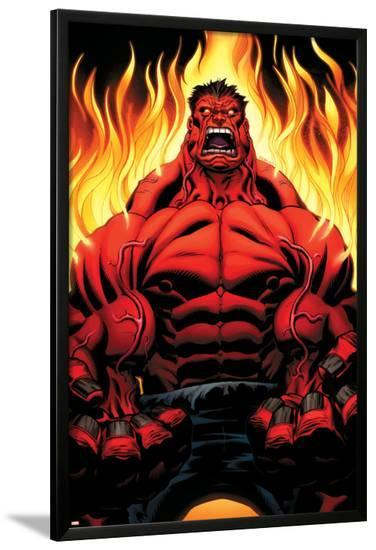 Hulk No.1 Cover: Hulk-Ed McGuinness-Lamina Framed Poster