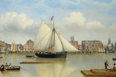 Hull from the Humber, C.1837-John Ward-Giclee Print