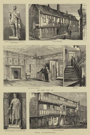 Hull Illustrated--Giclee Print
