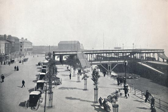 'Hull - The Pier and Front', 1895-Unknown-Photographic Print