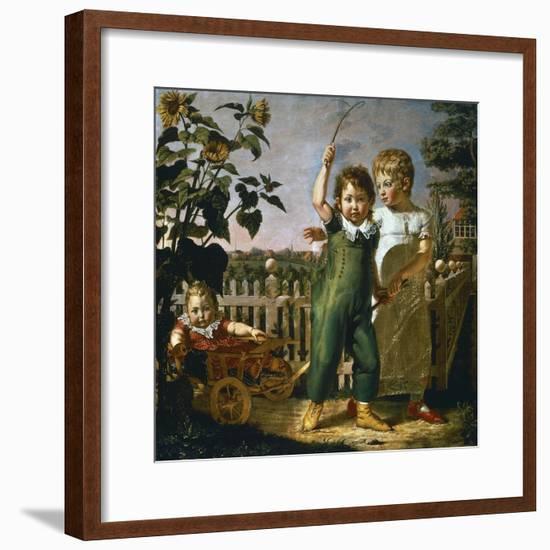 Hulsenbeck Children, 1805-Philipp Otto Runge-Framed Giclee Print
