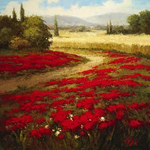 Red Poppy Trail by Hulsey
