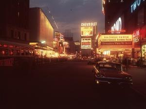 A Night in New York by Hulton Archive
