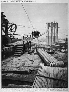 Brooklyn Bridge by Hulton Archive
