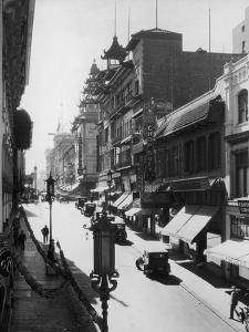 Chinatown by Hulton Archive