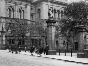 Edinburgh University by Hulton Archive