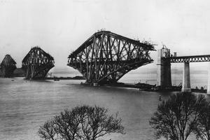 Forth Bridge by Hulton Archive