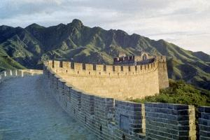 Great Wall by Hulton Archive