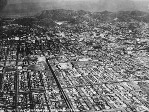 Hollywoodland by Hulton Archive