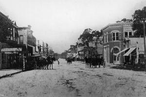 Looking West on Flagler Street by Hulton Archive