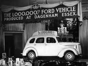 Millionth Ford by Hulton Archive
