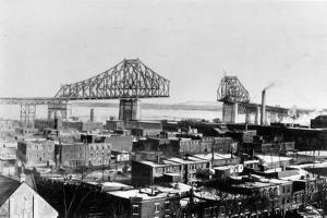 Montreal Harbour by Hulton Archive